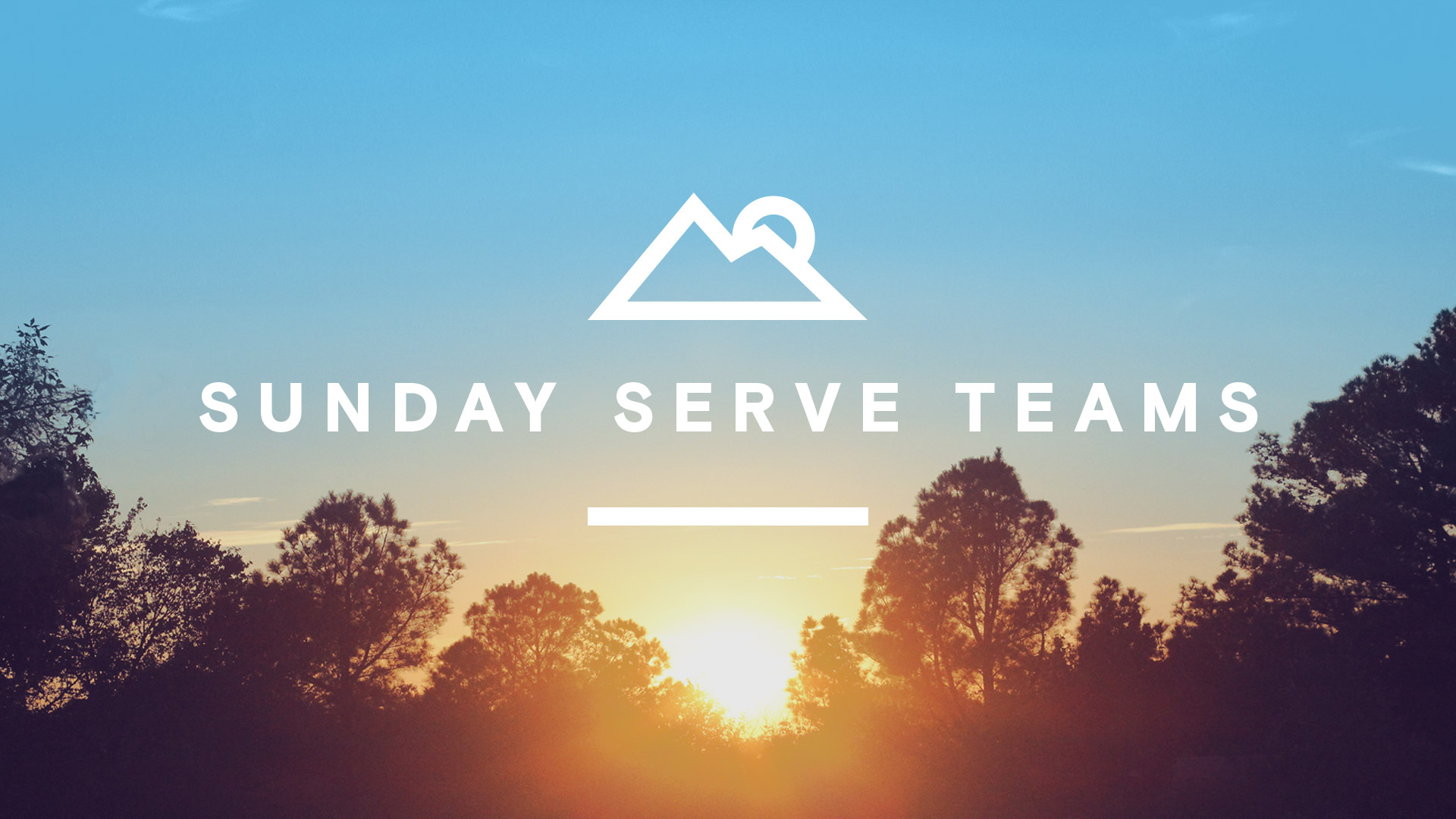 Sunday Serve Teams